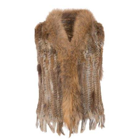 dianless vest fur naturelle