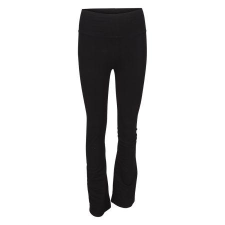 flare yoga pants svart