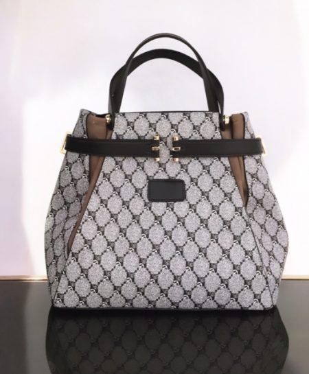 Silvia mönstrad väska
